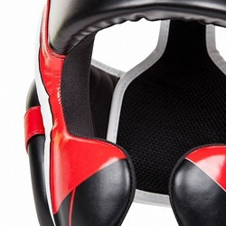 Headgear Elite Bk Red Grey4