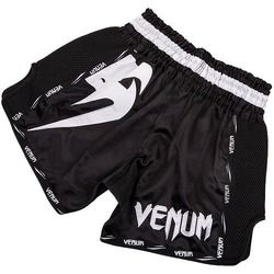 Giant Muay Thai Shorts blackwhite 2