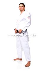 ATAMA 柔術衣 シングル 白