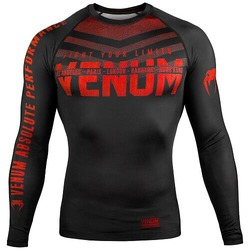 Signature Rashguard ls blackred 1