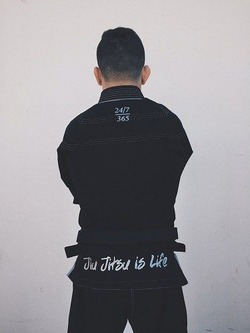 LIMITED EDITION Jiu Jitsu Life Black Gi 2