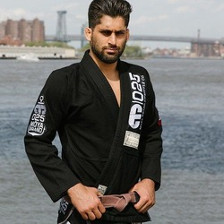LOST AT SEA X BLACK EDITION ADULT KIMONO BJJ GI 1