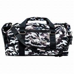 Convertible Grey Camo Gym Bag 1