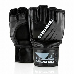 Training Series Impact MMA Gloves  Without Thumb blackgrey1
