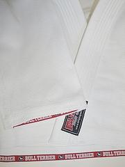 ブルテリア柔術衣SerieMライト?モデル白