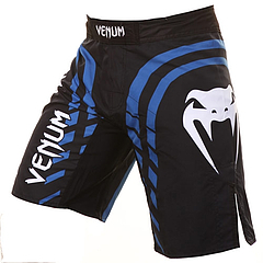 fightshort-blueline- Black1