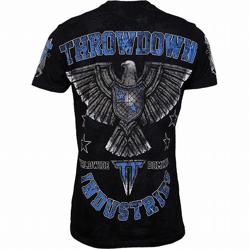 Throwdown Take Down T-Shirt bk4