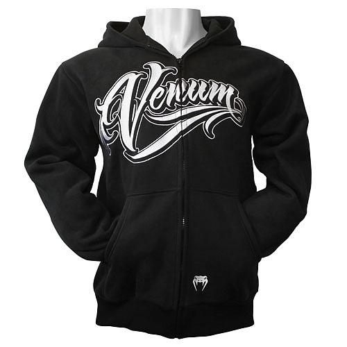 VENUM ジップパーカー Brazilian Fighters 黒