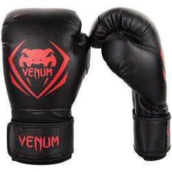 Contender Boxing Gloves blackred1