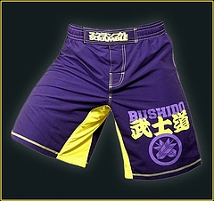 Shorts Bushido Purple1