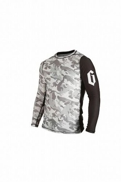 Camo Grapple Rash Guard LS 1