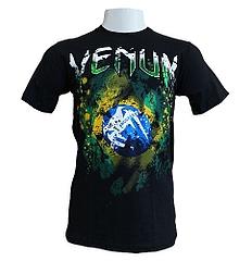 VENUM Tシャツ Brazilian Flag 黒