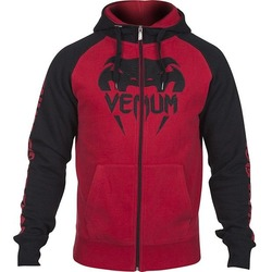 0 Hoody  Black Red 2