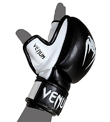 MMA Gloves- Sparring BLACK1