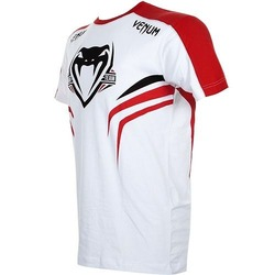 T-shirt Venum Shockwave 2 Wt Red3