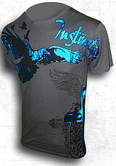 T-Shirt-Crow Flying Home1