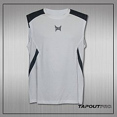 TapouT Pro Underdog Shooter Sleeveless Top (White)1