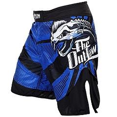 Fightshort Venum  Dan Hardy Outlaw Blue1
