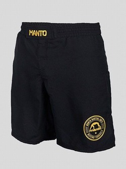 MANTO_fight shorts_BASICO black1