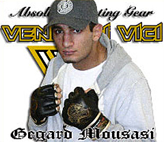 gegard mousasi Glove Dragon