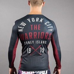 Scramble x The Warriors Official Rash Guard 2
