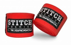 Stitch Premium Hand Wraps red