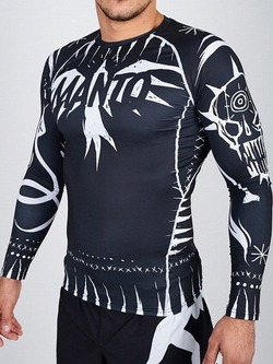 long sleeve rashguard VOODOO 20 black 1