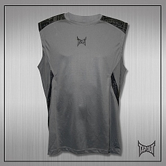 TapouT Pro Underdog Shooter Sleeveless Top (Grey)1