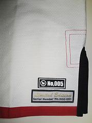 ブルテリア 柔術衣 リミテッドモデル ジャケット シリアル
