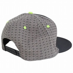 Icon Snap Back Hat BK Green3