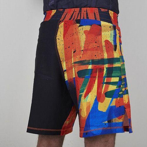fight shorts MARKER BK2