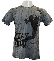 VENUM Tシャツ FlyingKnee グレー