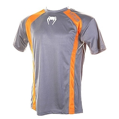 Combat Dry Fit Tee orange Gray 1