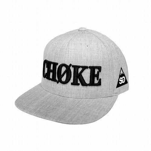 Choke Hat Heather Gray 1