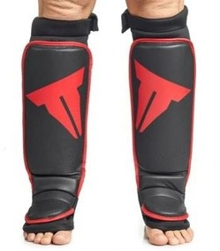 Grappling Shin In Step Guards Black 1