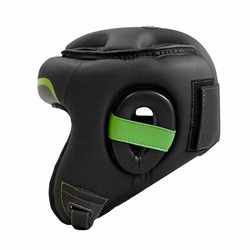 Pro Series 30 Head Guard Open Face blackgreen2