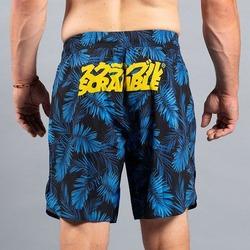 Indigo Camo Shorts 2