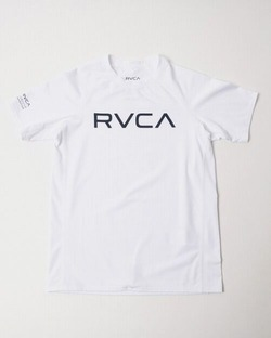 AJ045850 kids RVCA SHORT SLEEVE white1