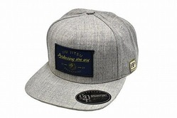 Perfecting The Art Snap Back Hat  Heather Gray 1