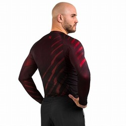 Metaru Rash Guard LS red2