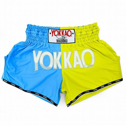 carbonfit-shorts-muay-thai-yokkao-double-impact-lime-marina