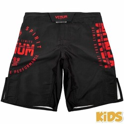 Signature Kids Fightshorts blackred1