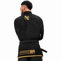 Lightweight Jiu Jitsu Gi black gold 3