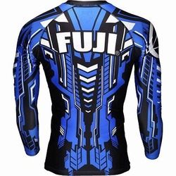 ROBO Rash Guard Blue 4