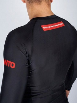 long sleeve rashguard EVERYDAYPORRADA V2 black 2
