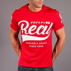 Scramble Real Jiu Jitsu T-shirt 1