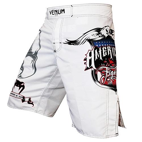 VENUM ファイトショーツ American Fighters 白