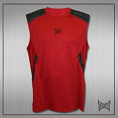 TapouT Pro Underdog Shooter Sleeveless Top (Red)1