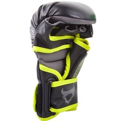 Charger Sparring Gloves blackneoyellow 3