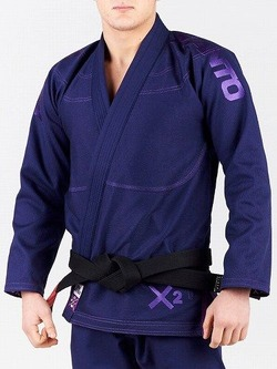 X2 BJJ GI navy blue 1